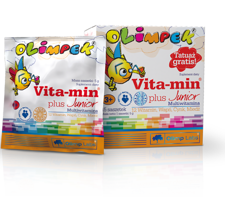 Vita min plus junior multiwitamina
